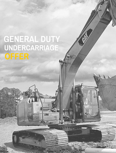 Undercarriage special offer | I.T.E